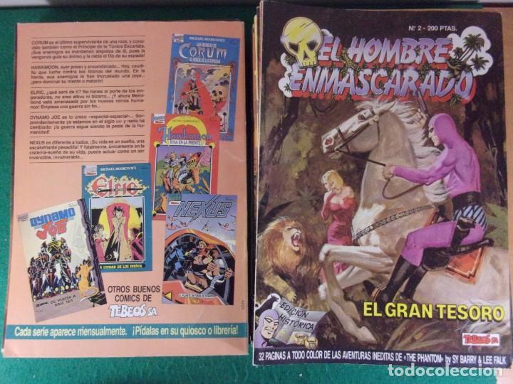 Cómics: EL HOMBRE ENMASCARADO / 50 PRIMEROS NÚMEROS / EDICIONES B - EDICIÓN HISTÓRICA - TEBEOS S.A. 1988 - Foto 5 - 169390168