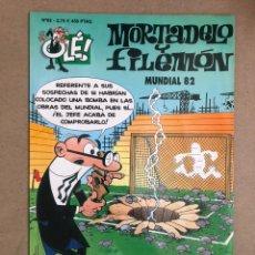 Fumetti: MORTADELO Y FILEMÓN N° 62 (EDICIONES B, 2001). MUNDIAL '82. COLECCIÓN OLÉ!. Lote 169682394