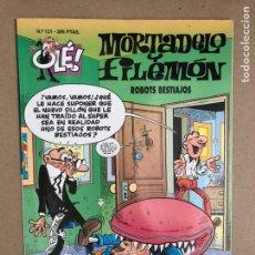 Cómics: MORTADELO Y FILEMÓN N° 121 (EDICIONES B, 1996). ROBOTS BESTIAJOS. COLECCIÓN OLÉ! (1ªEDICIÓN).. Lote 169696040