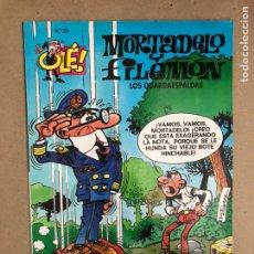 Cómics: MORTADELO Y FILEMÓN N° 29 (EDICIONES B, 1996). LOS GUARDAESPALDAS . COLECCIÓN OLÉ!. Lote 169696914