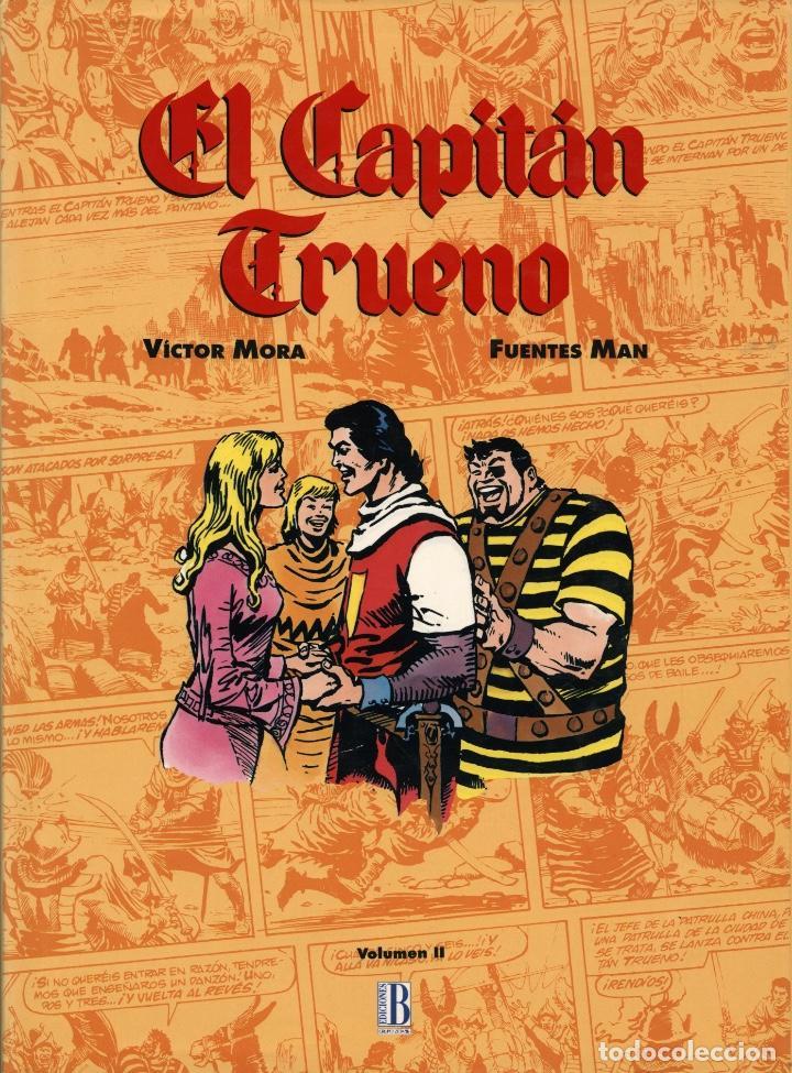 EL CAPITÁN TRUENO VOLUMEN II (B, 1993) DE VÍCTOR MORA Y FUENTES MAN (Tebeos y Comics - Ediciones B - Clásicos Españoles)