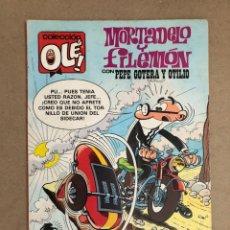 Cómics: MORTADELO Y FILEMÓNVCON PEPE GOTERA Y OTILIO N° 253 (EDICIONES B, 1987). COLECCIÓN OLÉ!. Lote 169707302