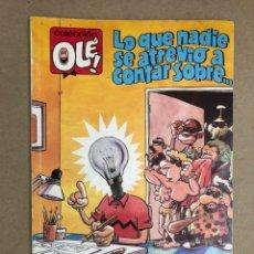 Cómics: LO QUE NADIE SE ATREVIÓ A CONTAR (BRUGUERA, 1989) 1ªEDICIÓN.. Lote 169708040