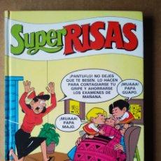 Cómics: SÚPER RISAS VOLUMEN 2 (EDICIONES B, 1987). INCLUYE MORTADELO SÚPER, ZIPI ZAPE SÚPER Y SÚPER LÓPEZ. Lote 169728978
