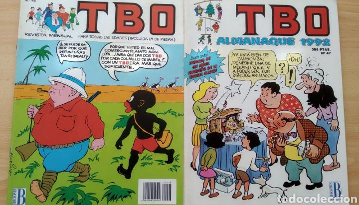 2 TBO N. 46-47 (Tebeos y Comics - Ediciones B - Clásicos Españoles)