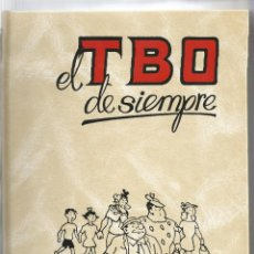 Cómics: EL TBO DE SIEMPRE TOMO II- AÑO 1998 EDICIONES B DE BARCELONA- EN PERFECTO ESTADO. Lote 169901028