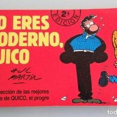 Cómics: NO ERES MODERNO QUICO EL PROGUE Nº 2 AÑO 1988 EN MUY BUEN ESTADO VER FOTO Y DESCRIPCION. Lote 169904172