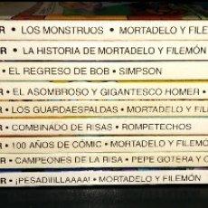 Cómics: GRANDES / MAGOS DEL HUMOR 9 NÚMEROS MORTADELO FILEMÓN ROMPETECHOS PEPE GOTERA SIMPSONS ELPERIÓDICO. Lote 112184155