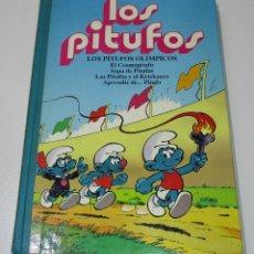 Cómics: TOMOS LOS PITUFOS VOLUMEN 1, EDICIONES B 1ª ED. 1992. Lote 169929182