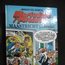 Cómics: MAGOS DEL HUMOR. MORTADELO. MAASTRICHT ¡...JESÚS!. Lote 170039072