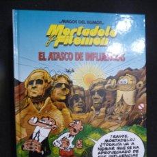 Cómics: MAGOS DEL HUMOR. MORTADELO. EL ATASCO DE INFLUENCIAS. Lote 170039080