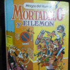 Cómics: MORTADELO Y FILEMÓN. MAGOS DEL HUMOR Nº 2. CONTRA EL GANG DEL CHICHARRÓN. BRUGUERA. Lote 170039132