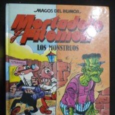 Cómics: MORTADELO Y FILEMÓN. MAGOS DEL HUMOR Nº 22.LOS MONSTRUOS. EDICIONES B.. Lote 170039152