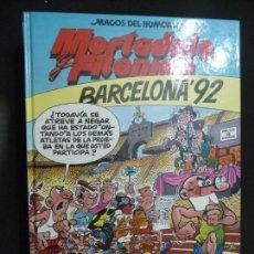 Cómics: MORTADELO Y FILEMÓN. MAGOS DEL HUMOR Nº 41.BARCELONA 92. EDICIONES B.. Lote 170039164
