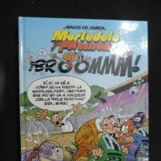 Cómics: MORTADELO Y FILEMÓN. MAGOS DEL HUMOR Nº 157. ¡BROOMMM!. EDICIONES B.. Lote 170039208