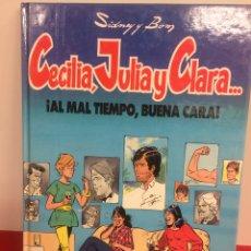 Cómics: LIBRO CECILIA ,JULIA Y CLARA. Lote 170065733