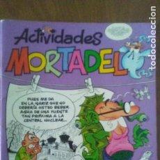 Cómics: 6 CUADERNOS ACTIVIDADES MORTADELO (ED.B) (PRIMERA PAGINA DE DOS DE ELLOS YA ESTAN PINTADAS). Lote 170107216