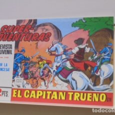Fumetti: COLECCION SUPERAVENTURAS Nº 1148 EL CAPITAN TRUENO Nº 614 - REEDICION. Lote 170107824