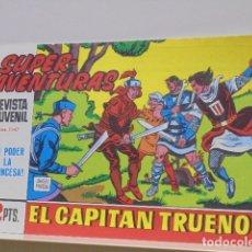 Fumetti: COLECCION SUPERAVENTURAS Nº 1147 EL CAPITAN TRUENO Nº 613 - REEDICION. Lote 170107920