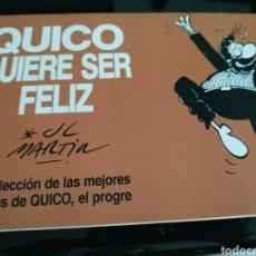 Comics : QUICO QUIERE SER FELIZ 4 LAS MEJORES TIRAS DE QUICO EL PROGRE. Lote 170169188