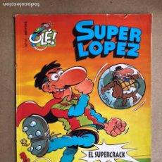 Cómics: SÚPER LÓPEZ N° 31 (EDICIONES B 1997). PORTADA EN RELIEVE.. Lote 170319190