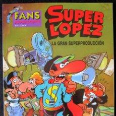Cómics: OLE! SUPER LOPEZ Nº 9 - LA GRAN SUPERPRODUCCIÓN - EDICIONES B - 1ª EDICIÓN 2003 ''MUY BUEN ESTADO''. Lote 170537000