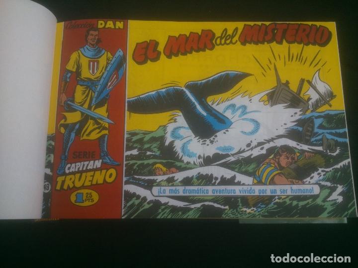 Cómics: El capitan trueno. tomo 2. del nº 49 al 96. Ediciones B. Victor Mora. 1991. Facsimil. Tapa dura - Foto 2 - 170949805