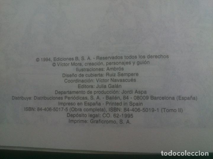 Cómics: El capitan trueno. tomo 2. del nº 49 al 96. Ediciones B. Victor Mora. 1991. Facsimil. Tapa dura - Foto 3 - 170949805