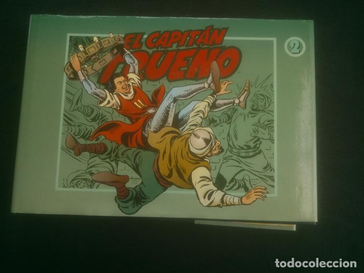 EL CAPITAN TRUENO. TOMO 2. DEL Nº 49 AL 96. EDICIONES B. VICTOR MORA. 1991. FACSIMIL. TAPA DURA (Tebeos y Comics - Ediciones B - Otros)