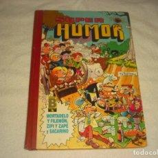 Comics: SUPER HUMOR, TOMO 29, MORTADELO Y FILEMON. ZIPI ZAPE Y SACARINO.. Lote 171107255