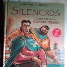 Cómics: SILENCIOS - LA JUVENTUD DEL CAPITÁN TRUENO- 2ª ED.2006-ALFONS LÓPEZ-PEPE GÁLVEZ-BUENO-LEAN-1560. Lote 171358943