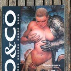 Cómics: CO&CO Nº 2. MONCHO ALPUENTE, MAILER, ALTUNA, SAMPAYO, ETC. EDICIONES B, AÑO 1993. VER FOTOS . Lote 171636598
