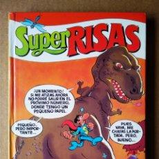 Cómics: SÚPER RISAS VOLUMEN 12 (EDICIONES B, 1988). INCLUYE SÚPER MORTADELO, SÚPER ZIPI Y ZAPE Y SÚPER LÓPEZ. Lote 202253783