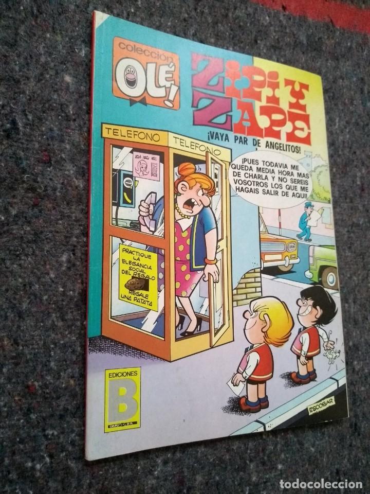 COLECCIÓN OLÉ Nº 125 Z.117 - ZIPI Y ZAPE: ¡VAYA PAR DE GEMELOS!- MUY BUEN ESTADO D5 (Tebeos y Comics - Ediciones B - Clásicos Españoles)