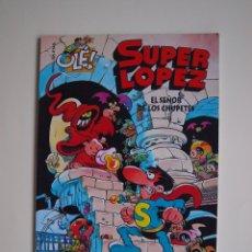 Comics: SUPER LOPEZ Nº 5 - EL SEÑOR DE LOS CHUPETES - JAN - GRAN FORMATO RELIEVE - EDICIONES B - 1ª ED. 1996. Lote 172133772
