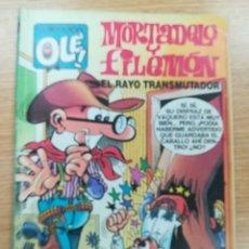 Cómics: MORTADELO Y FILEMON Y EL RAYO TRANSMUTADOR (OLE #335 - 1ª EDICION DICIEMBRE 1988). Lote 172288470