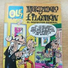 Cómics: MORTADELO Y FILEMON EL INSPECTOR GENERAL (OLE #387 - 1ª EDICION ABRIL 1991). Lote 172301574