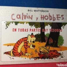 Cómics: CALVIN Y HOBBES, EN TODAS PARTES HAY TESOROS - BILL WATERSON - B, 2012. Lote 172329327