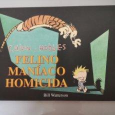 Cómics: CALVIN Y HOBBES 3 BILL WATTERSON 1A EDICIÓN 1999. Lote 172471304