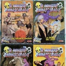 Cómics: THE PHANTOM - EL HOMBRE ENMASCARADO - EDICION HISTORICA - LOTE NUMEROS 2, 3, 13 Y 22. Lote 189218481