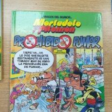 Cómics: MORTADELO Y FILEMON PROHIBIDO FUMAR (MAGOS DEL HUMOR #105 - 1ª EDICION 2005). Lote 172562794