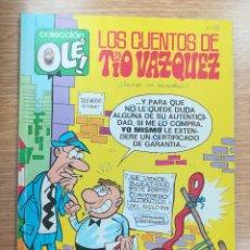 Cómics: LOS CUENTOS DEL TIO VAZQUEZ (OLE #25 - 1ª EDICION AGOSTO 1988). Lote 172623523