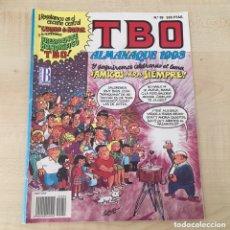 Cómics: COMIC TBO ALMANAQUE 1993. Lote 206145376