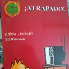 Cómics: CALVIN AND HOBBES ATRAPADO. Lote 172931700