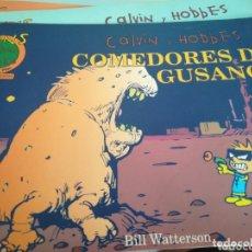 Cómics: CALVIN AND HOBBES COMEDORES DE GUSANOS. Lote 172931857