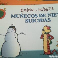 Cómics: CALVIN Y HOBBES MUÑECOS DE NIEVE SUICIDAS. Lote 172932077