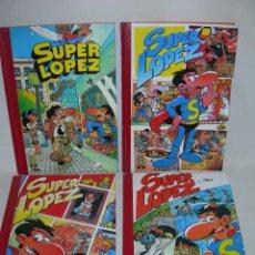 Cómics: LOTE DE 4 COMICS SUPER HUMOR SUPER LOPEZ X JAN - TOMOS 1, 2, 3 Y 4 - EDICIONES B - SUPERLOPEZ -. Lote 195288551