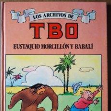 Cómics: LOS ARCHIVOS DE TBO N°3: EUSTAQUIO MORCILLÓN Y BABALÍ (EDICIONES B, 1990). POR BENEJAM/JOAN NAVARRO. Lote 173446887