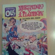 Cómics: MORTADELO Y FILEMÓN COLECCIÓN OLE 144-M.69 EDICIONES B 1988 1ª EDICIÓN. Lote 173514878