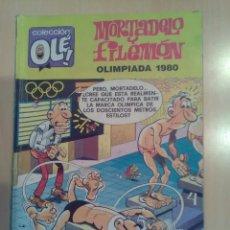 Cómics: MORTADELO Y FILEMÓN COLECCIÓN OLE 195-M.85 EDICIONES B 1988 1ª EDICIÓN. Lote 173515188